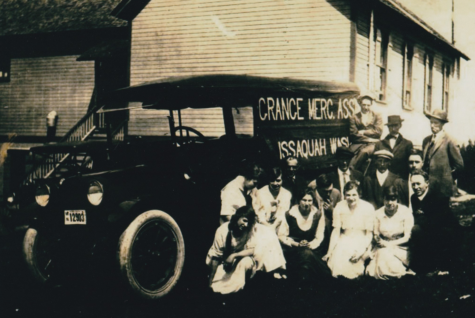 The Grange Historic Photo in Issaquah WA